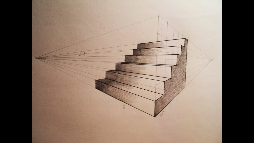 2PointPerspectiveStairs2