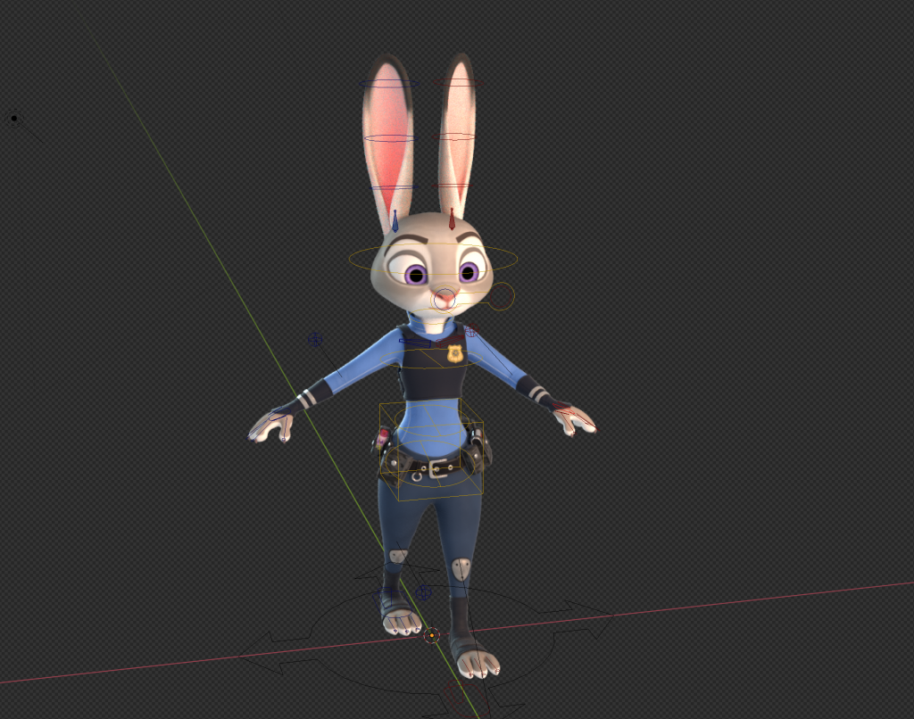 Judy the Rabbit