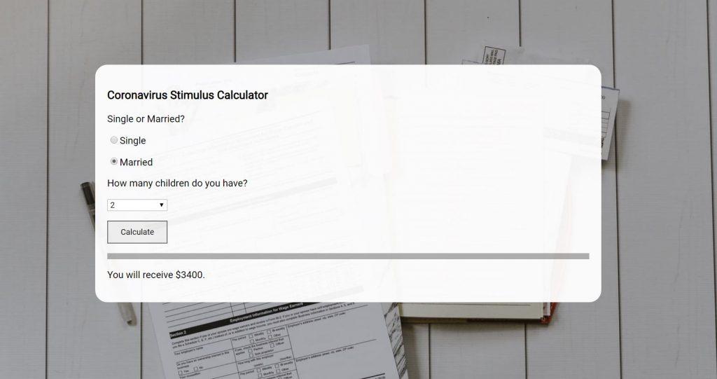 CompletedStimulusCalculator