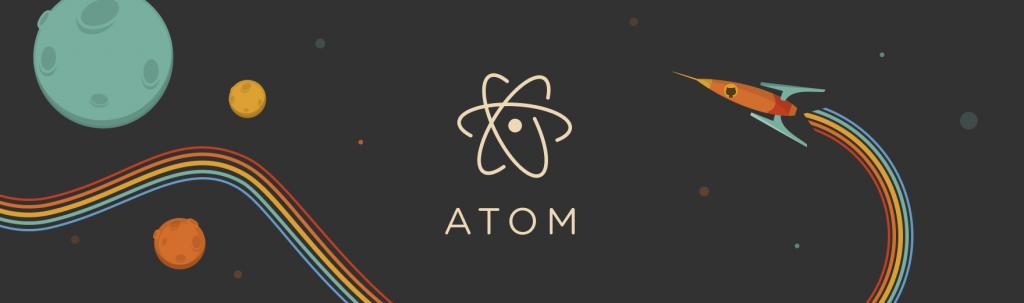 atom code editor logo